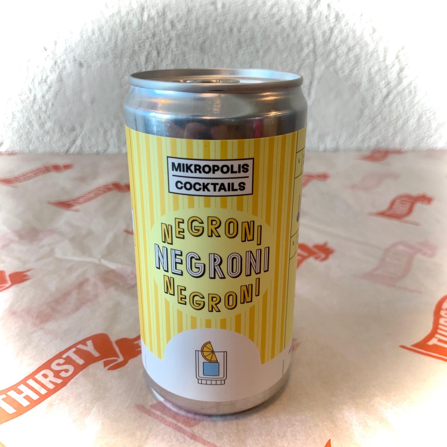 Mikropolis | Negroni |  15% 250ml