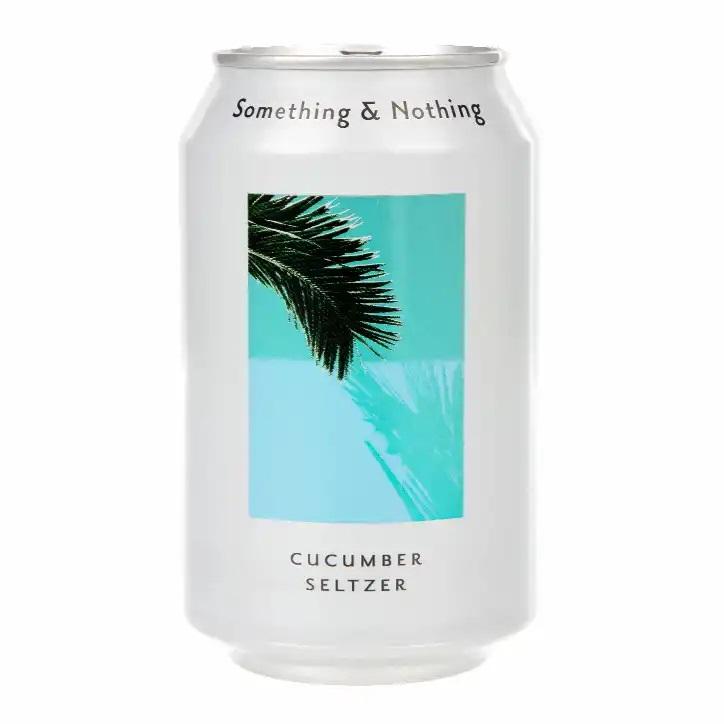 Something & Nothing   Cucumber Seltzer