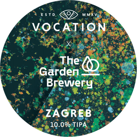 ON TAP Vocation x The Garden Brewery | Zagreb | Triple IPA  10% x 1Litre