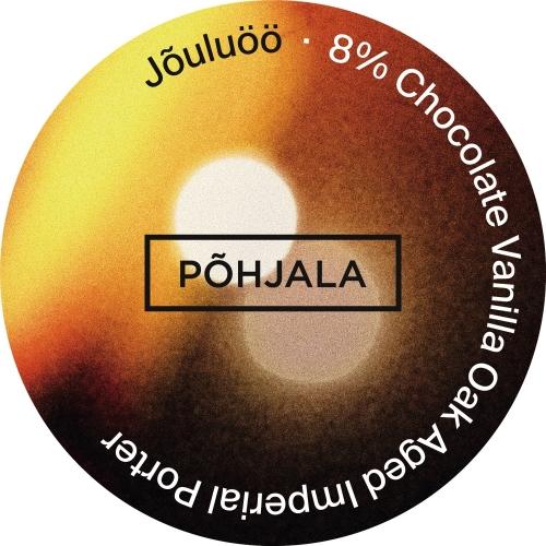 Pohjala | Jouluoo | Chocolate - Vanilla Oak Aged Imperial Porter 8% 330ml