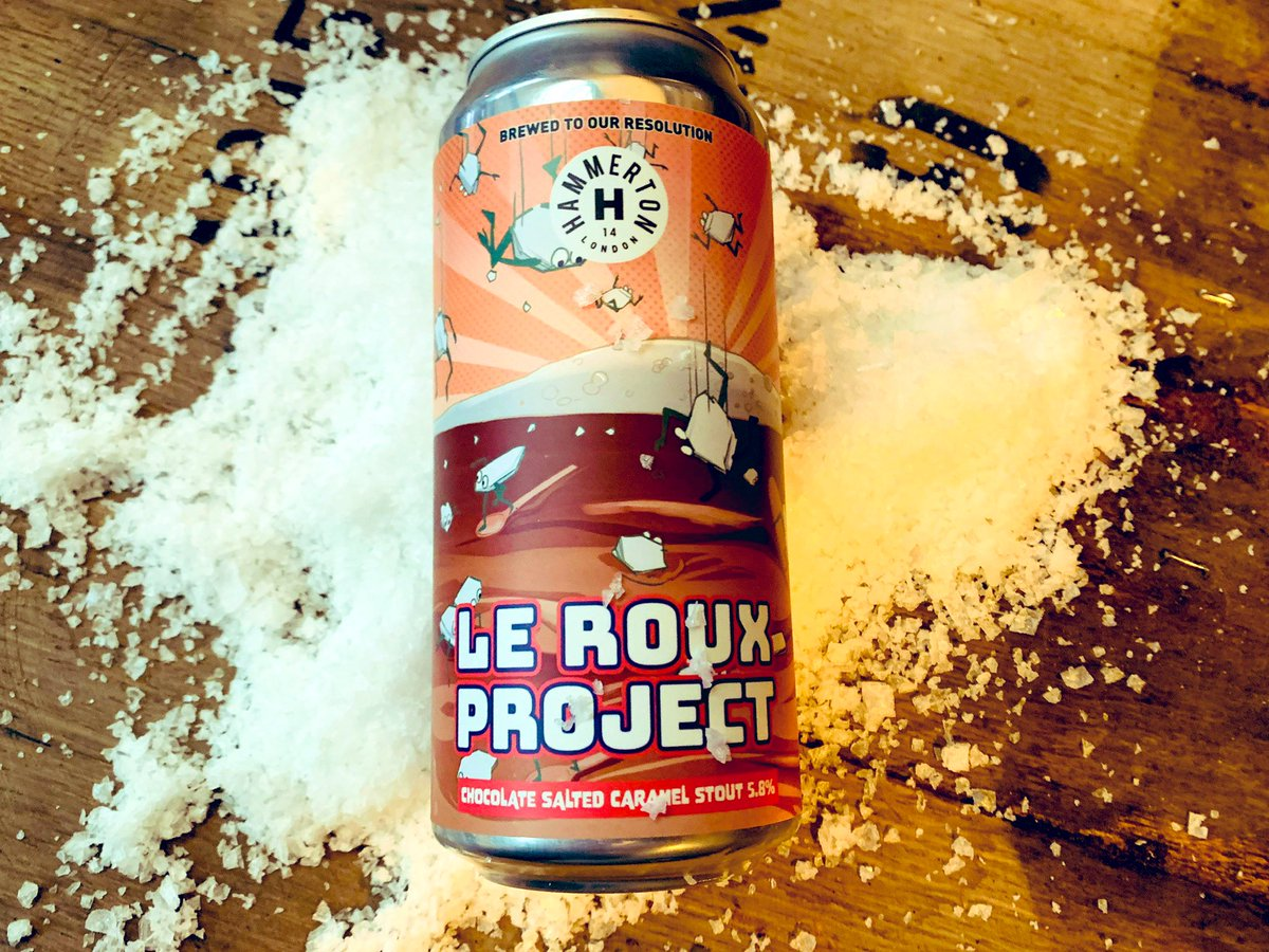 Hammerton | Le Roux Project | Salted Caramel Chocolate Stout 5.8% 440ml