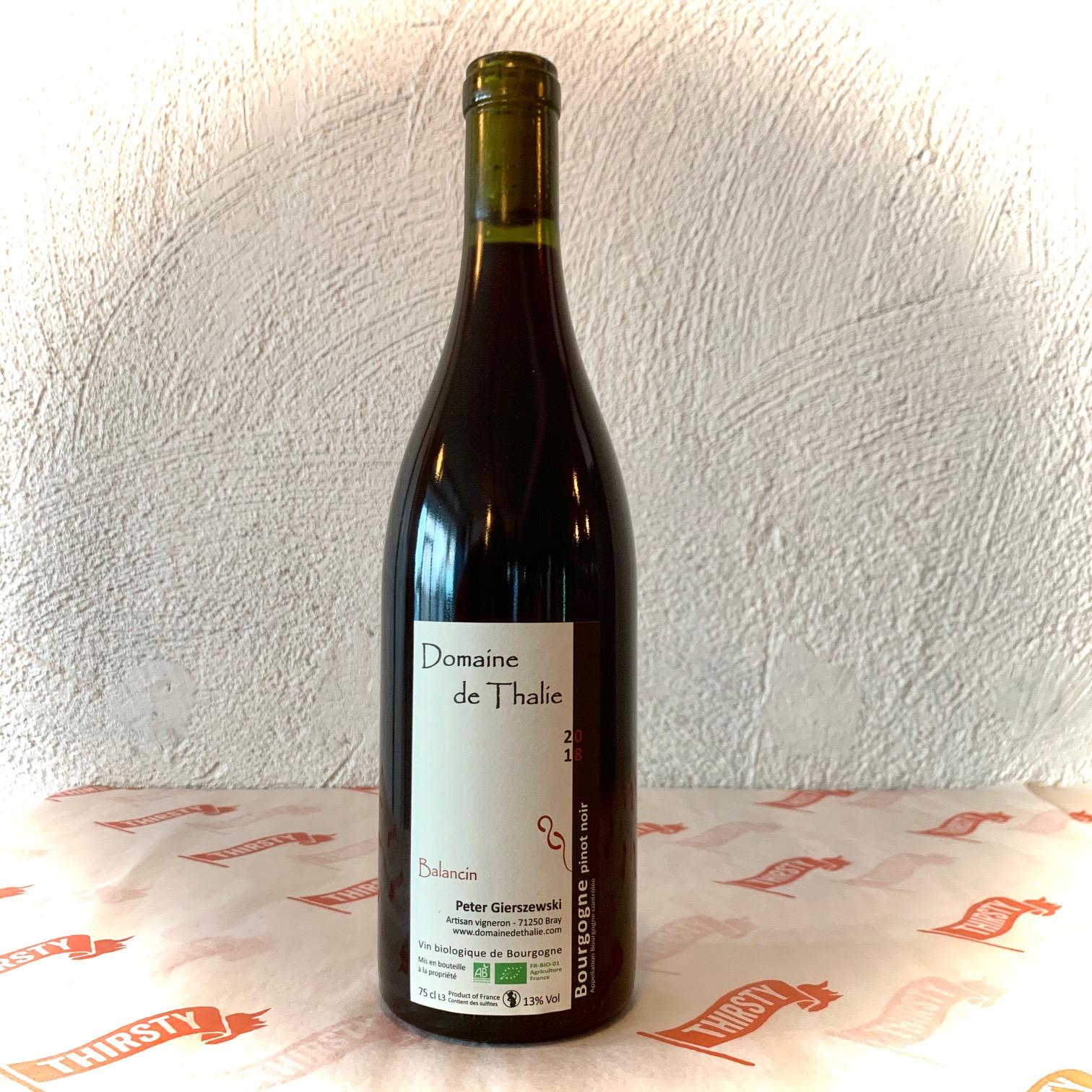 Domaine de Thalie Balancin Pinot Noir 2018