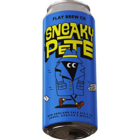 Play Brew   Sneaky Pete   NE Pale 5.7% 440ml