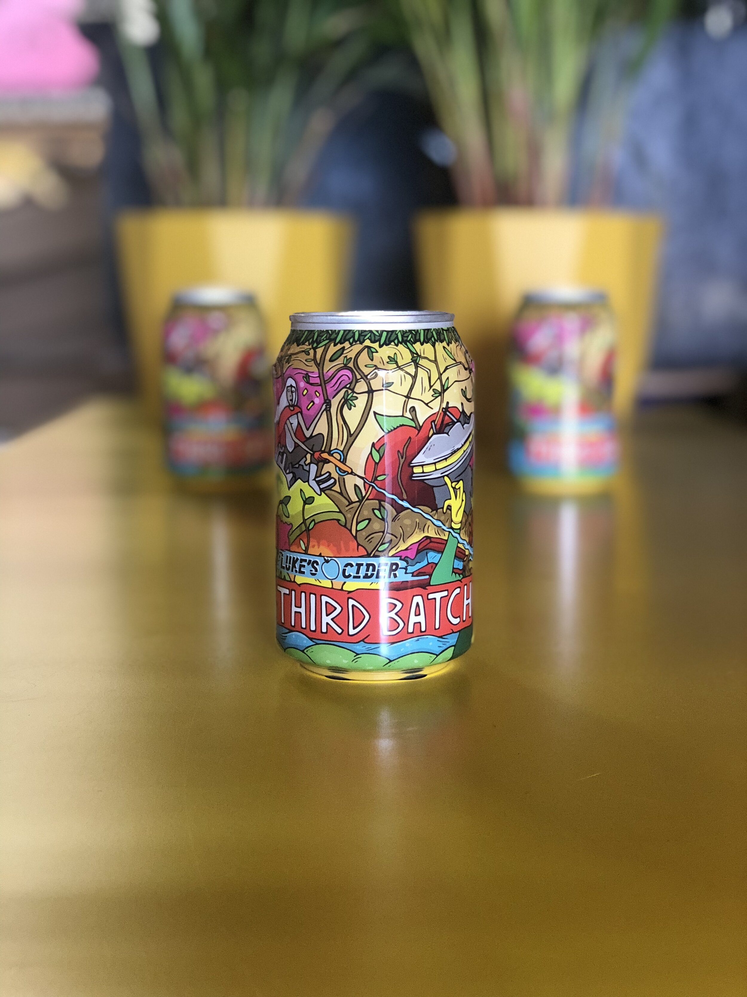Luke's | Third Batch | Med Dry Cider 6.2% 330ml