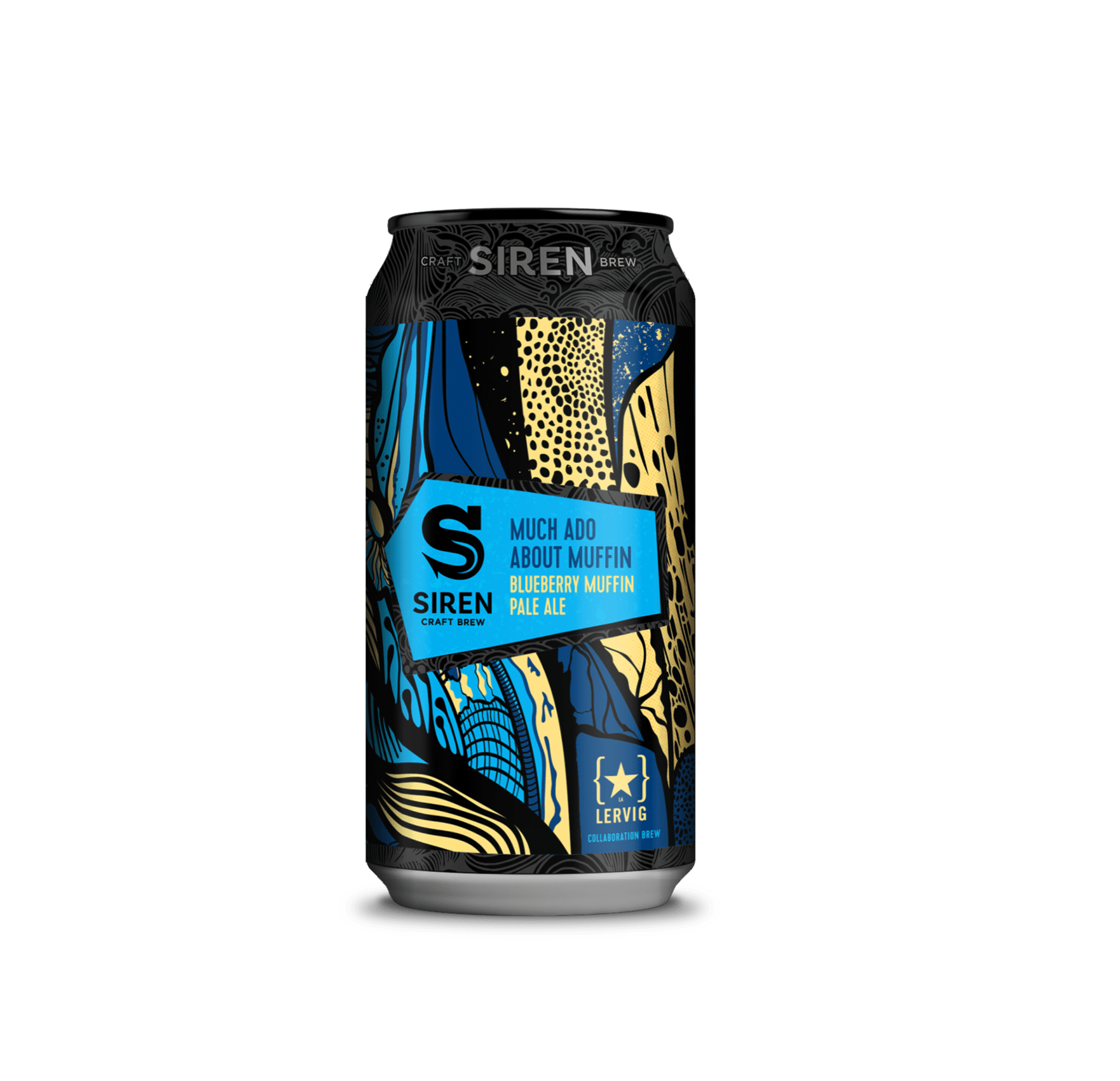 Siren x Lervig | Much Ado About Muffin | Blueberry Muffin Pale Ale 5.5% 440ml