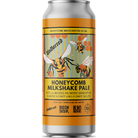 Unbarred | Honeycomb Milkshake | Pale 6% 440ml