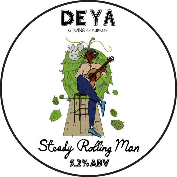 ON TAP | Deya | Steady Rolling Man | Pale Ale 5.2% 1Litre