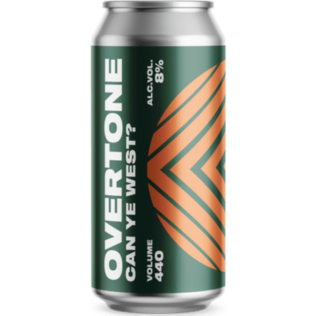 Overtone Brewing Co. | Can Ye West | Citra, Simcoe, Rakau and Columbus West Coast DIPA 8% 440ml