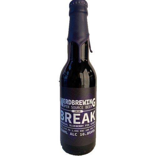Nerd Brewing | Break 2020 |  Blueberry Pie Imperial Stout 10.8% 330ml