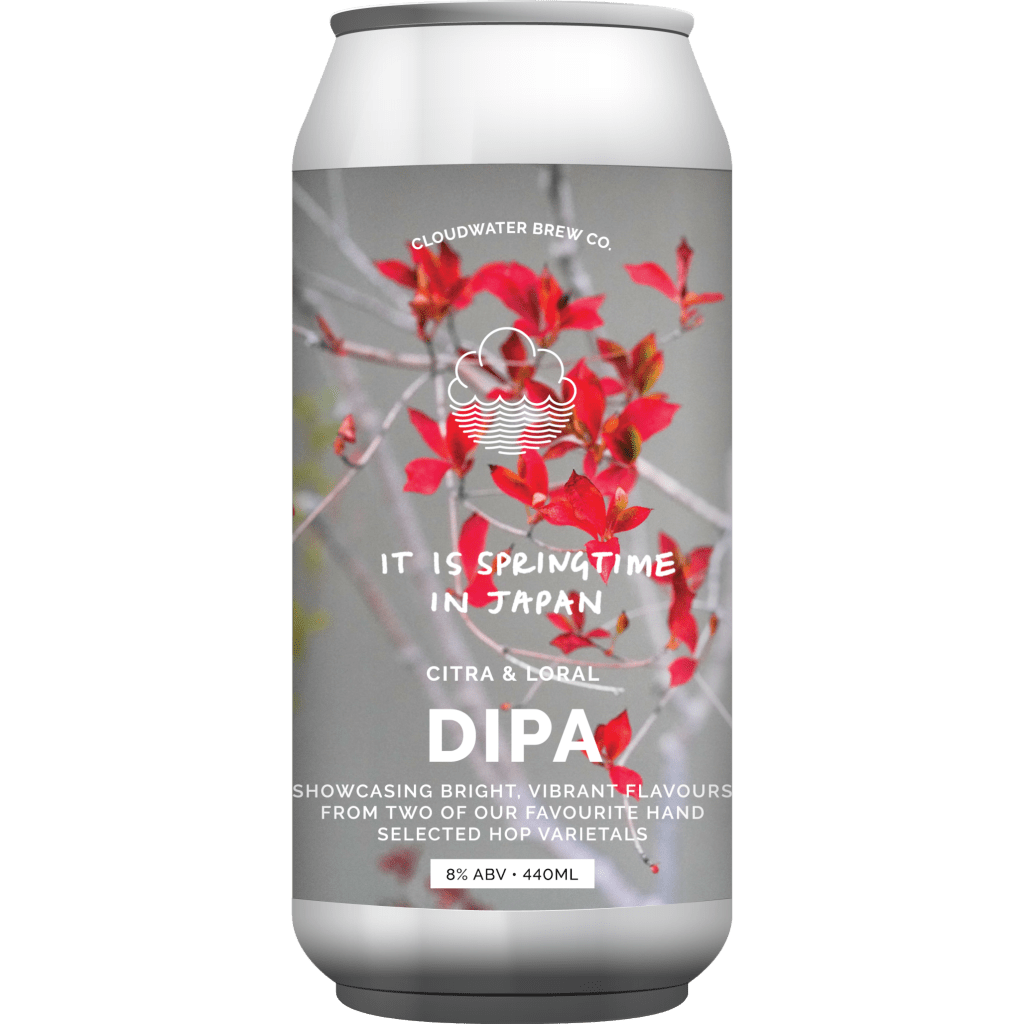 Cloudwater | It Is Springtime in Japan |Double IPA 8% 440ml