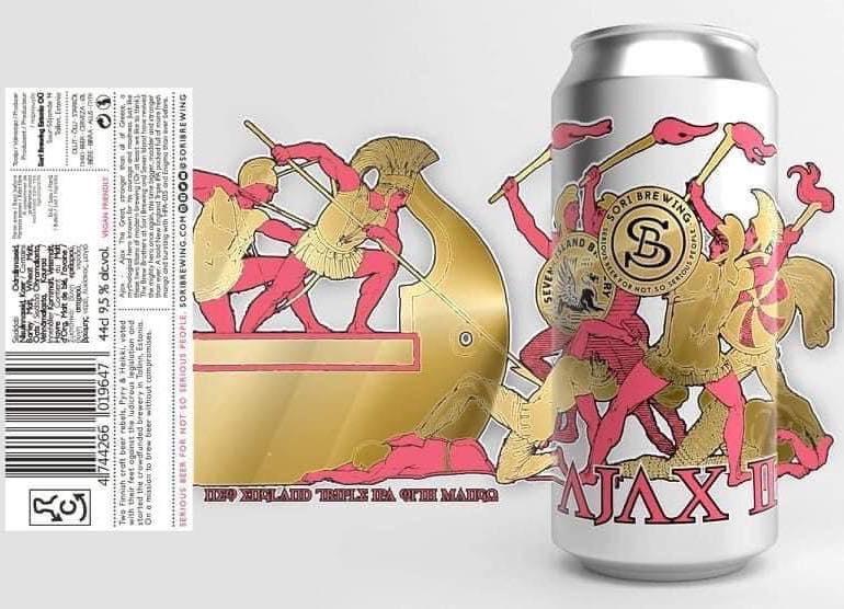 Sori x Seven Island | Ajax II | New England Triple IPA 9.5% 440ml