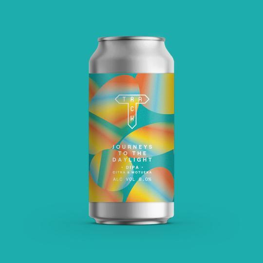 Track Brewing | Journeys To The Daylight | DIPA 8% 440ml