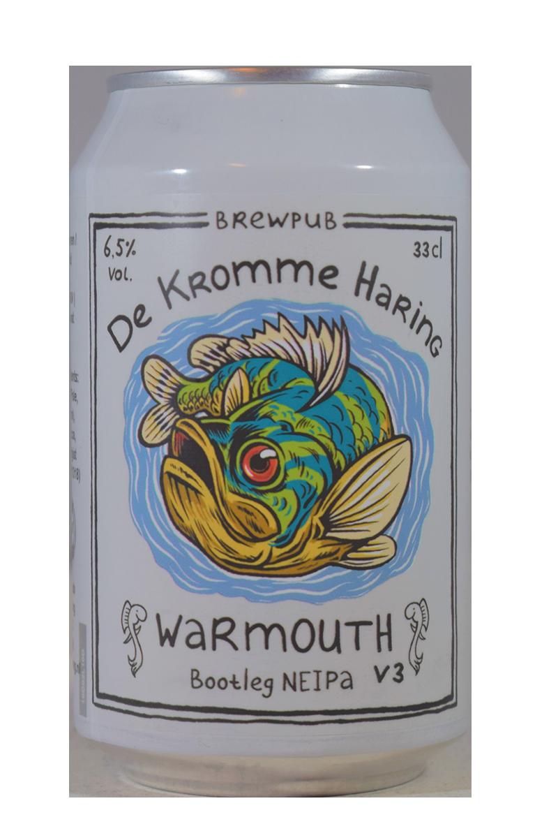 De Kromme Harring | Warmouth v3 | Bootleg NEIPA 6.5% 330ml