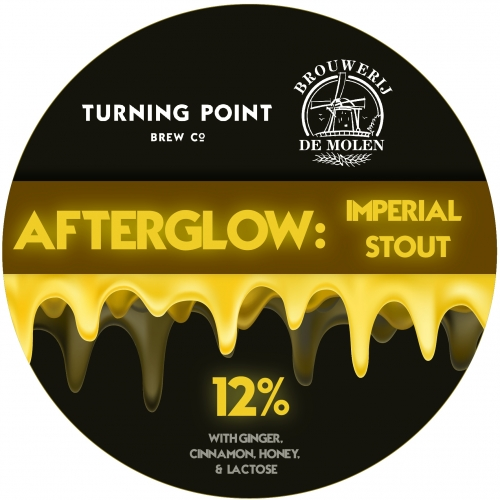 ON TAP | Turning Point | Afterglow | Spiced Imperial Stout 12% 1 Litre