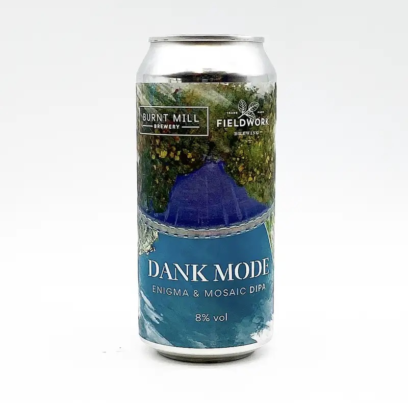 Burnt Mill Brewery + Fieldwork Brewing | Dank Mode | DIPA 8% 440ml