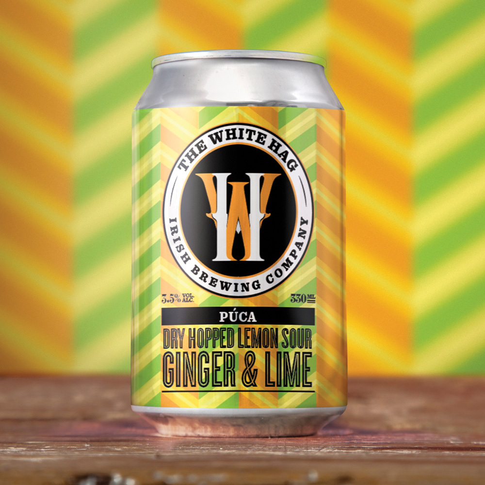 White Hag | The Púca Lime and Ginger | Dry Hopped Sour 3.5% 330ml