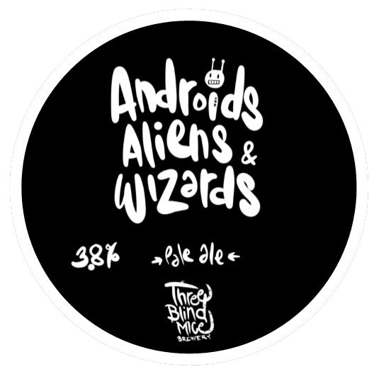 Three Blind Mice | Androids, Aliens & Wizards | Pale Ale 3.8% 440ml