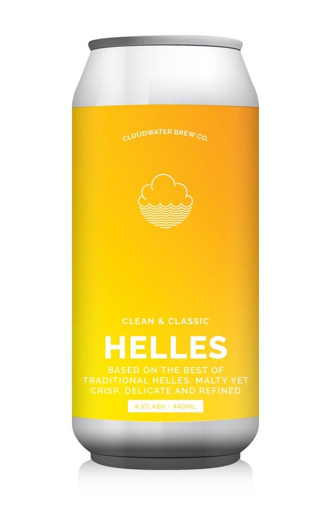 Cloudwater   Helles   Helles Lager 4.5% 440ml