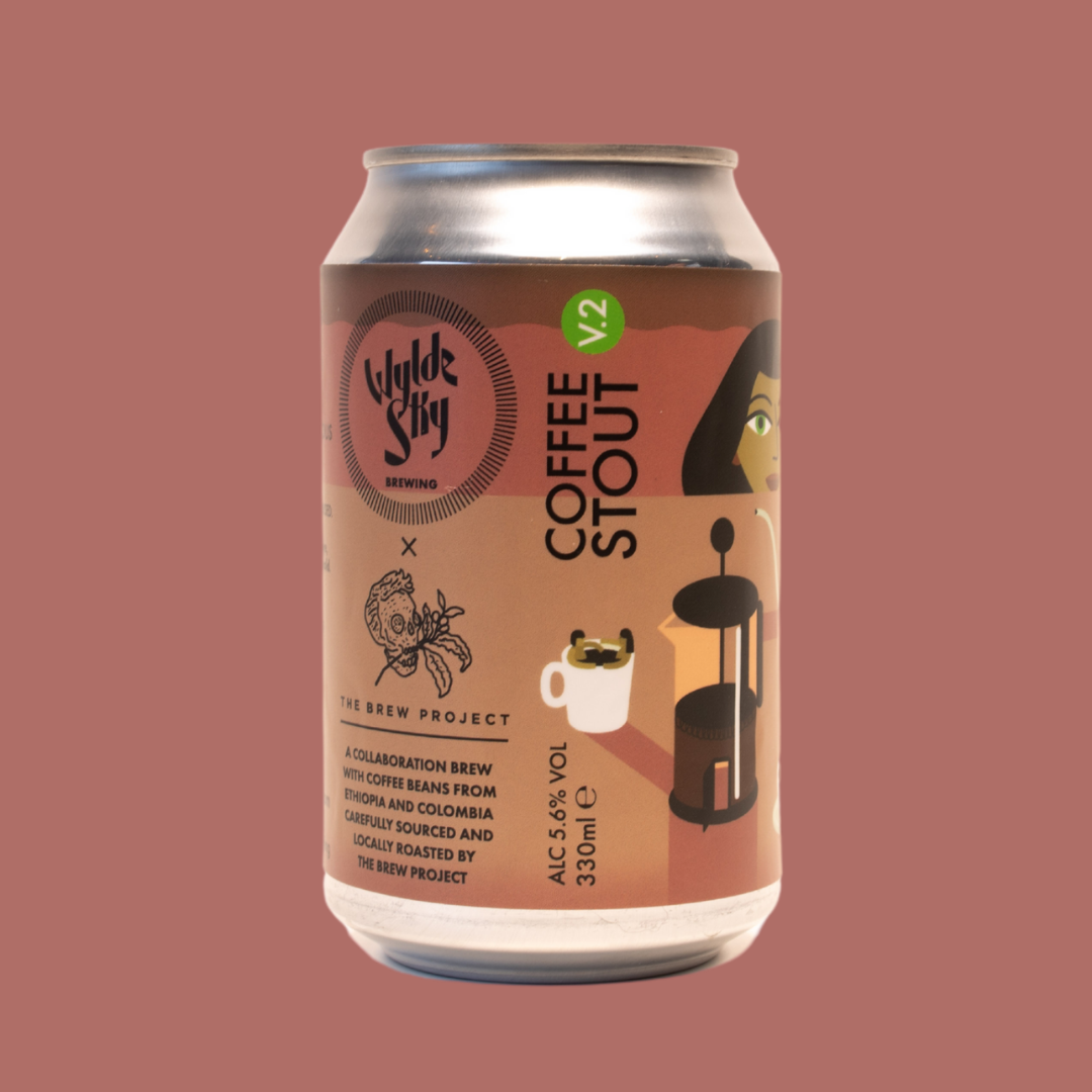 Wylde Sky x The Brew Project | Coffee Stout v2 5.6% 330ml