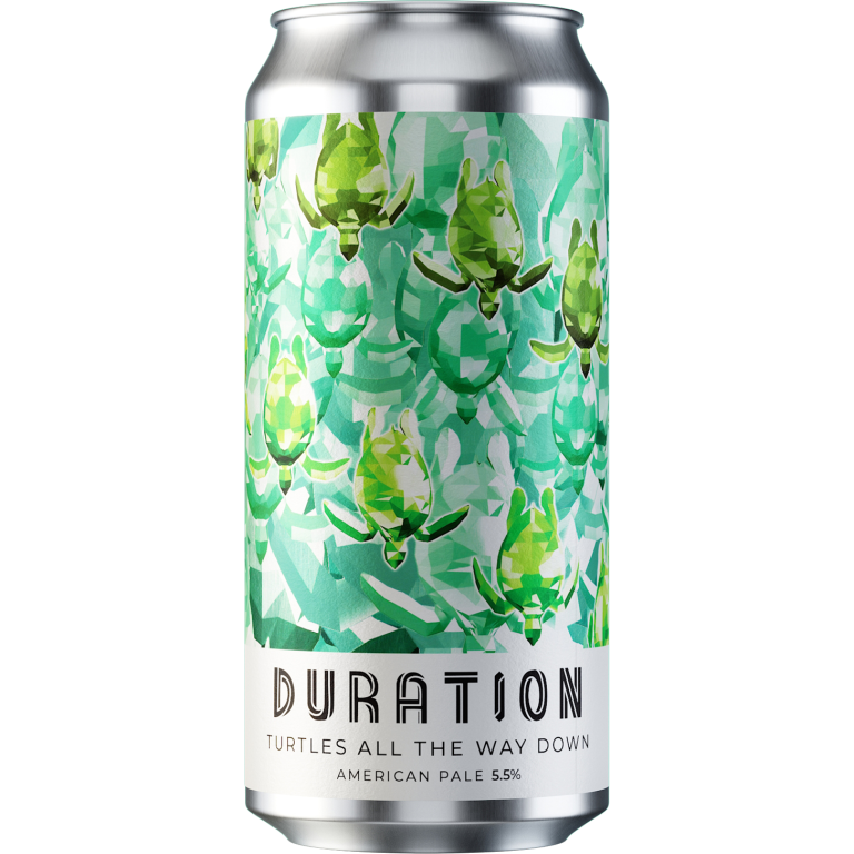Duration | Turtles All The Way Down | Pale 5.5% 440ml