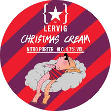 Lervig | Christmas Cream | Nitro Porter 4.7% 440ml