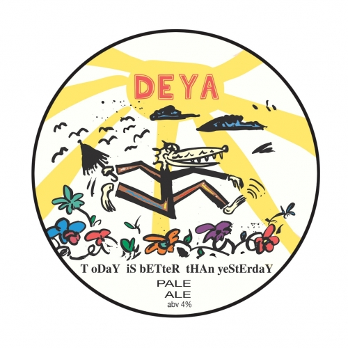 Deya | Today is Better than Yesterday | Pale Ale 4% 500ml