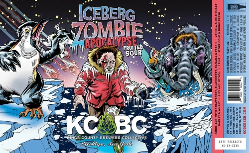 KCBC | Iceberg Zombie Apocalypse |   Strawberry, Blackberry, Cherry Sour 6%