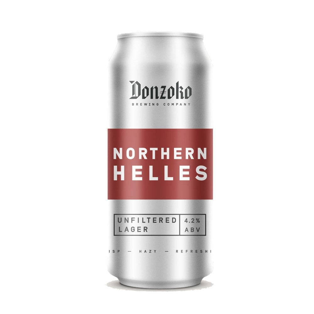 Donzoko | Northern Helles | Unfiltered Lager 4.2% 440ml