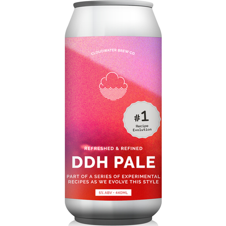 Cloudwater | DDH Pale Recipe Evolution #1 | Double Dry Hopped Pale Ale 5% 440ml