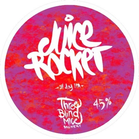 ON TAP Three Blind Mice | Juice Rocket | Pale Ale 4.5% x 1 LITRE