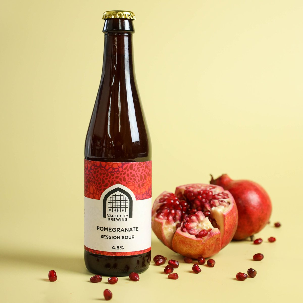 Vault City | Pomegranate Session Sour | Fruited Sour 4.5% 330ml