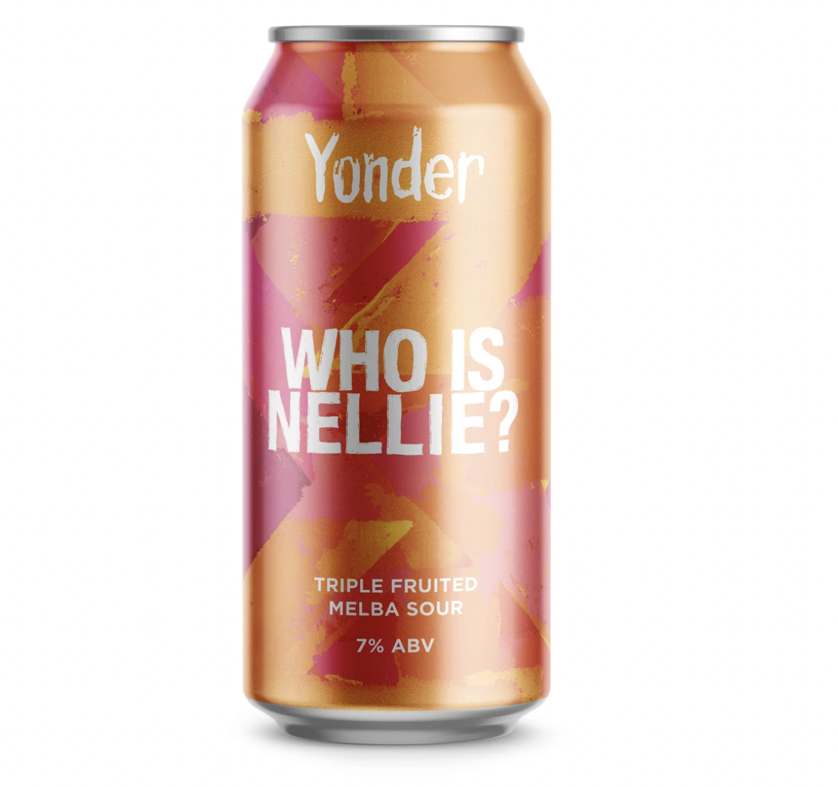 Yonder | Who Is Nellie | Triple Fruited Peach Melba 7% 440ml