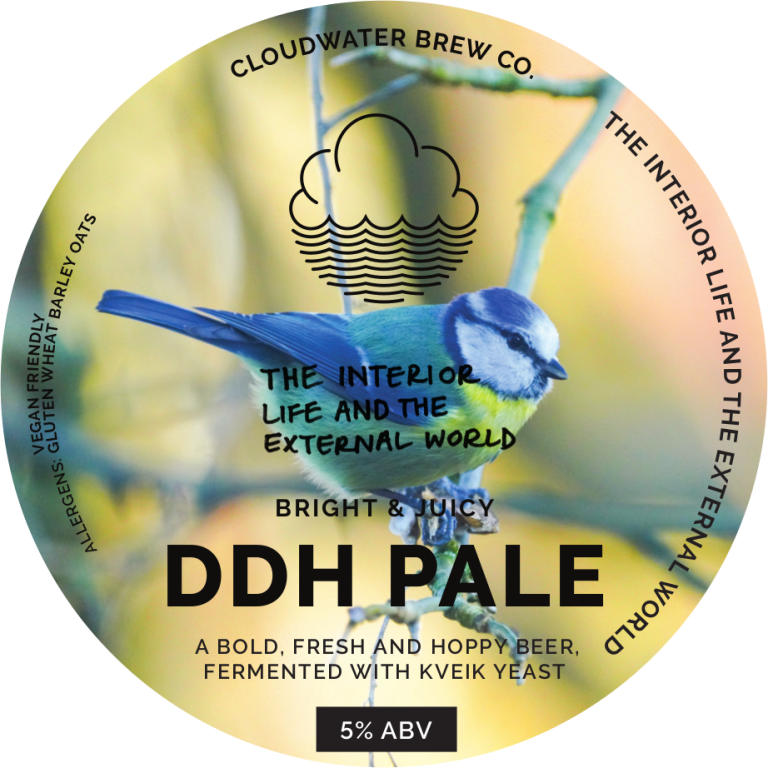 ON TAP Cloudwater | The Interior Life And The External World | Pale 5% 1 Litre