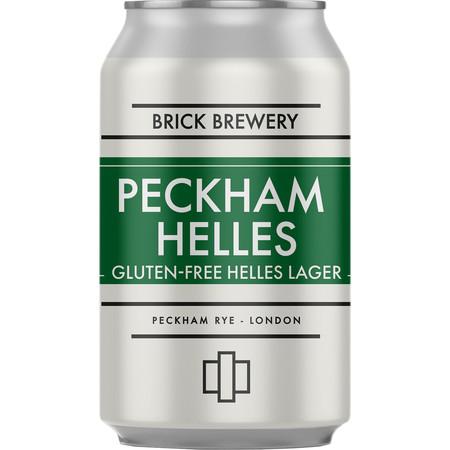 Brick | Peckham Helles | Lager 4.2% 330ml