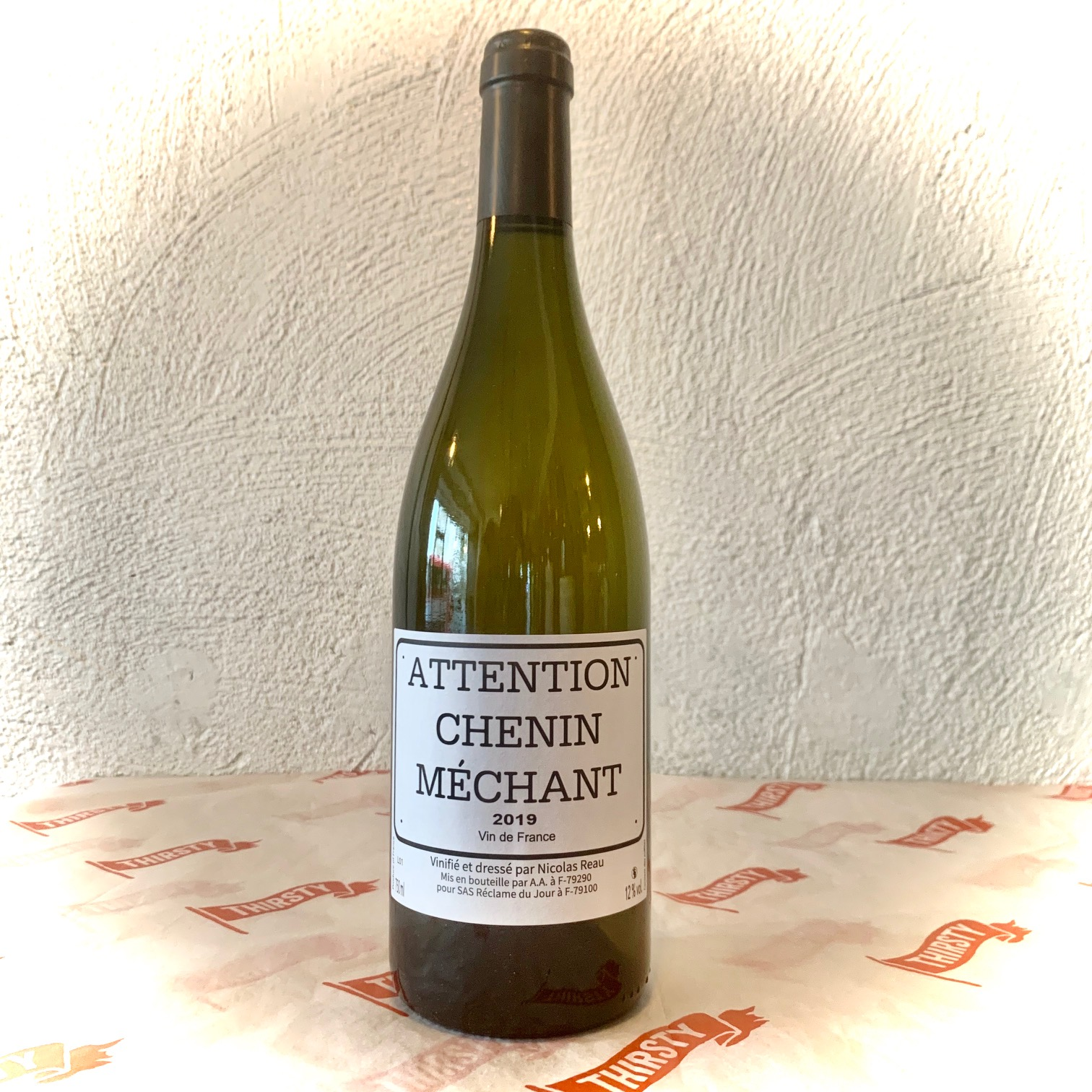 Nicolas Reau Attention Chenin Mechant