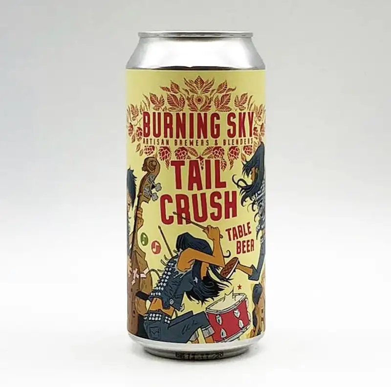 Burning Sky Brewery | Tail Crush | Table Beer 3% 440ml