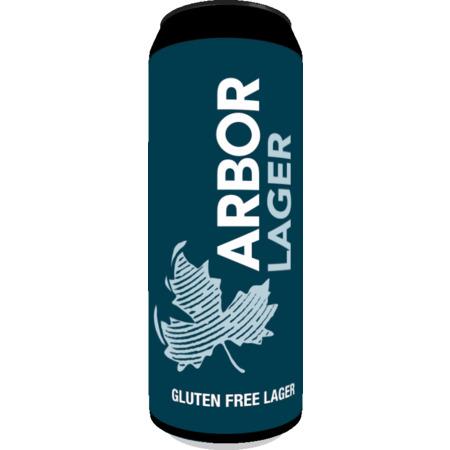 Arbor   Lager   Gluten Free Lager 5.2% 568ml Pint