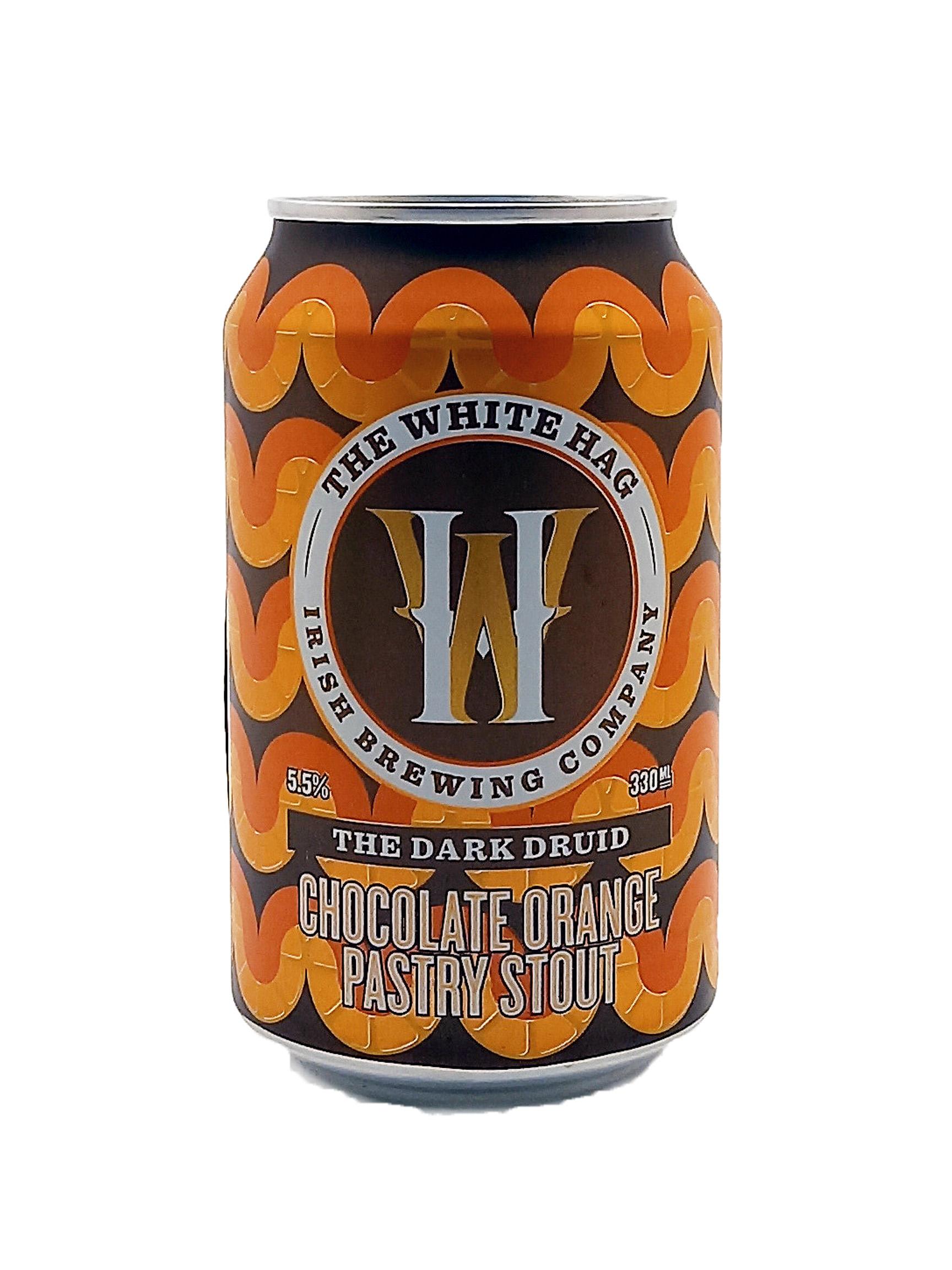 White Hag | The Dark Druid | Chocolate Orange Pastry Stout 5.5% 330ml