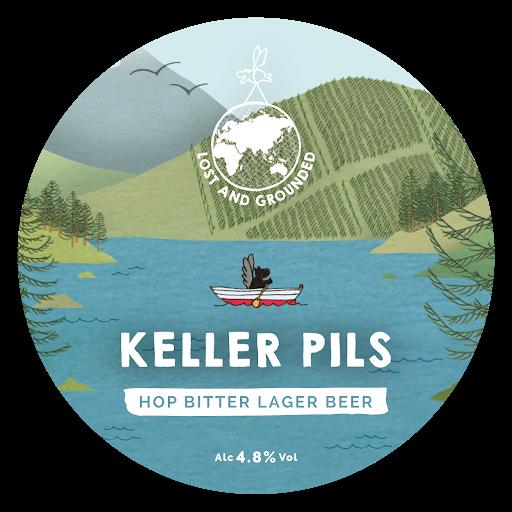 ON TAP Lost & Grounded | Keller Pils | Lager 4.8% x 1 LITRE