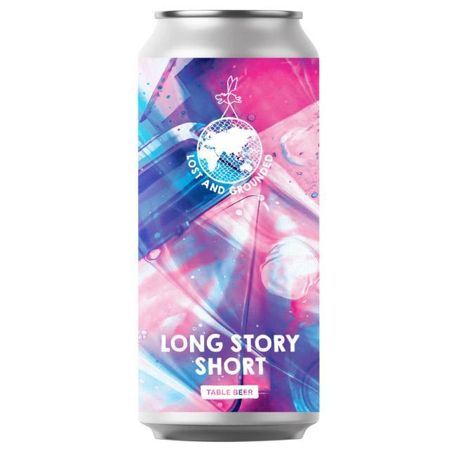 Lost & Grounded | Long Story Short | Table Beer 3.2% 440ml