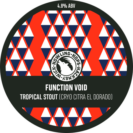 ON TAP Howling Hops | Function Void | Tropical Black IPA 4.8% 1 Litre