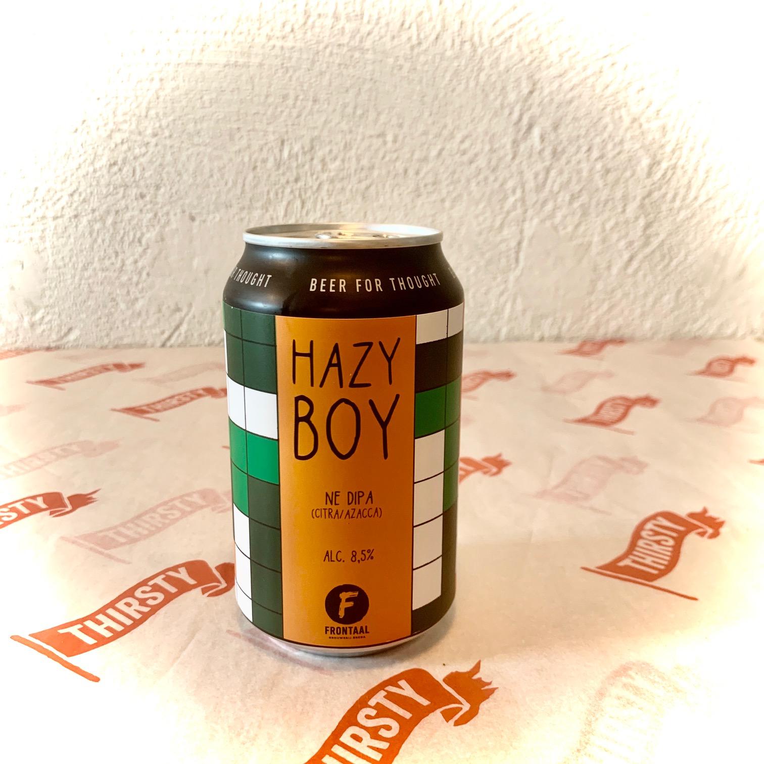 Frontaal   Hazy Boy   NE DIPA Citra/Azacca 8.5% 330ml