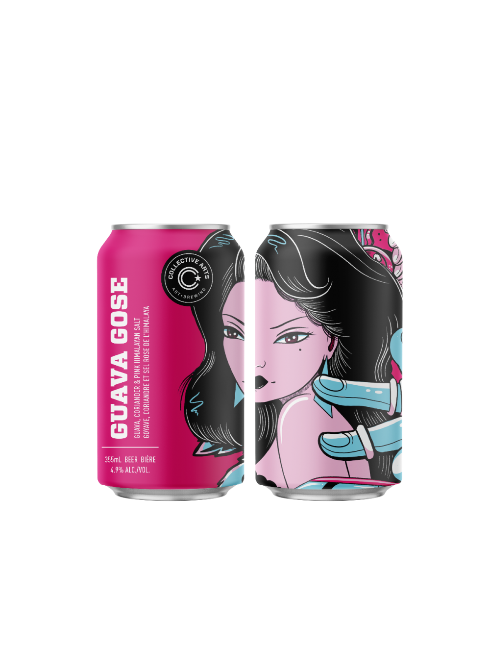 Collective Arts | Guava Gose | Sour 4.7% 350ml