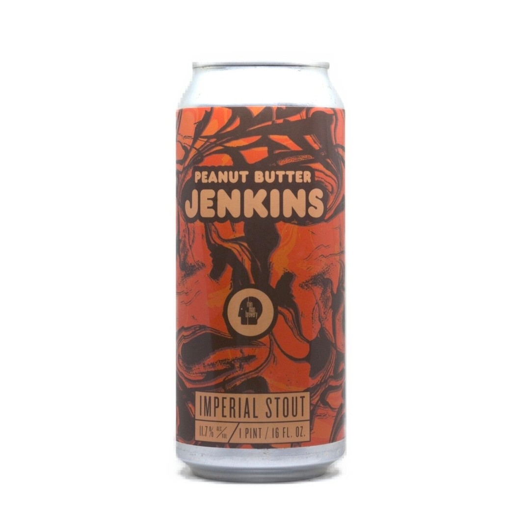 Thin man Brewery | Peanut  Butter Jenkins | Peanut Butter Imperial Stout 11.7% 473ml
