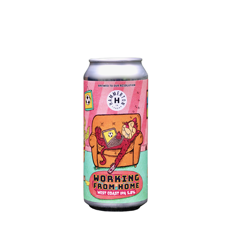 Hammerton | Working From Home | West Coast IPA 5.8% 440ml