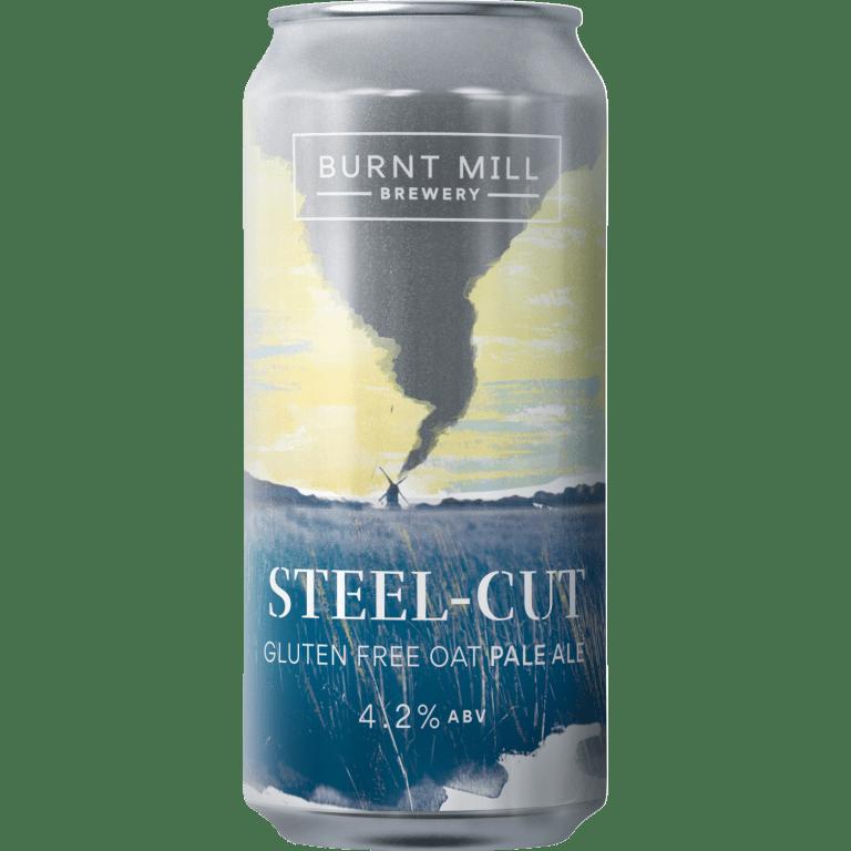 Burnt Mill | Steel-Cut | GF Oat Pale 4.2% 440ml