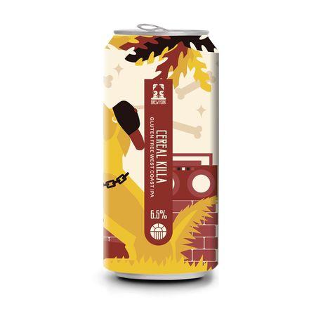 Brew York | Cereal Killer | West Coast IPA Gluten Free 6.5% 440ml