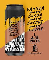 Pinta x Maltgarden | Vanilla More Cocoa More Coffee More Maple  | Pastry Imperial Stout 9.6% 500ml