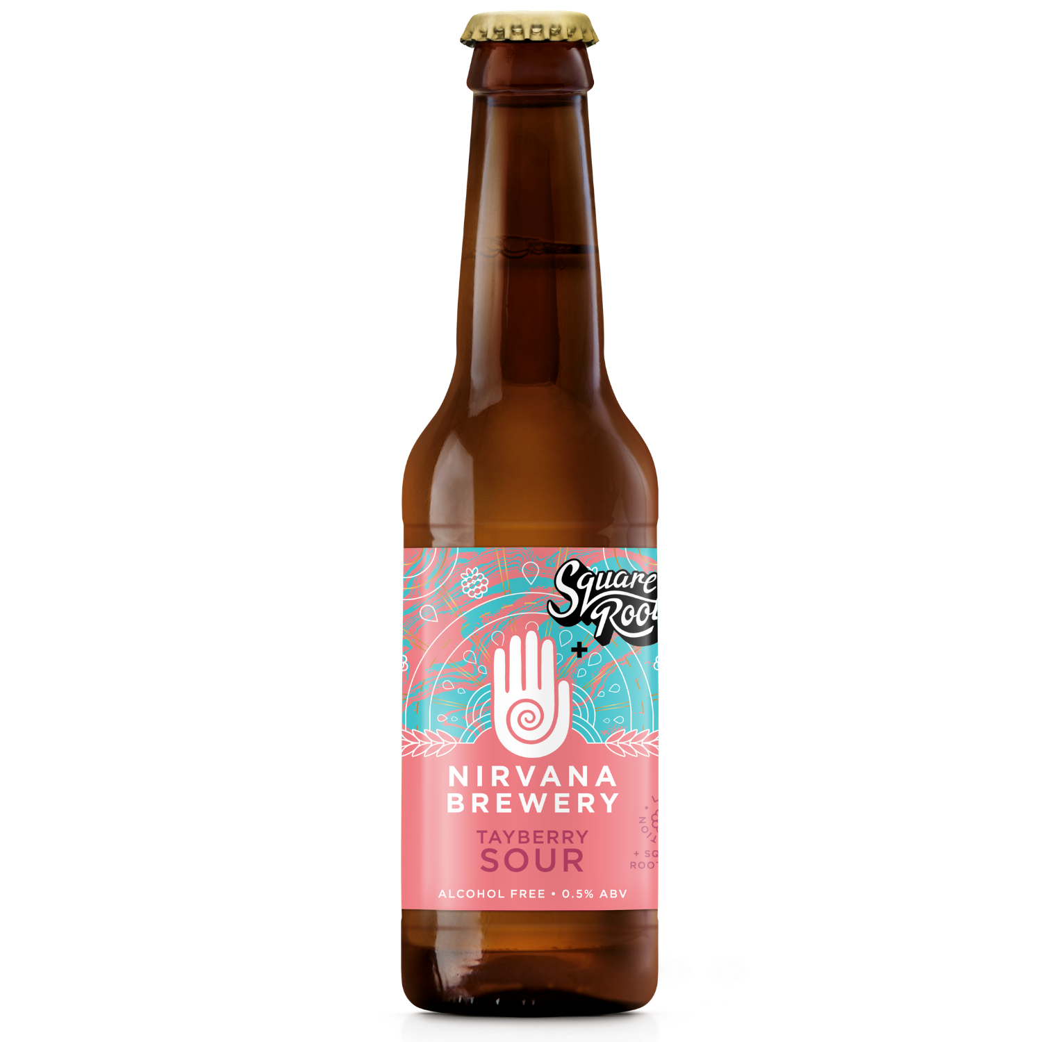 Nirvana   Tayberry Sour   Alcohol free Fruit Sour 0.0% 330ml