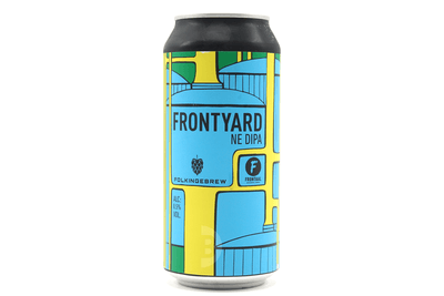 Frontaal x Folkingebrew | Frontyard | Double New England IPA 8.5% 440ml